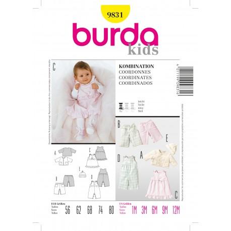 Coordinates Sewing Pattern Burda n°9831