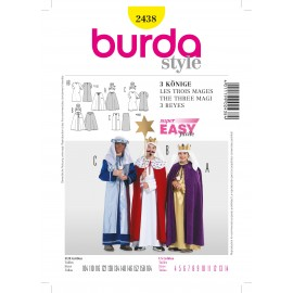 The Three Mages Sewing Pattern Burda n°2438