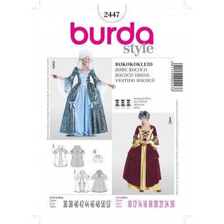 Patron Les trois mages Burda n°2438