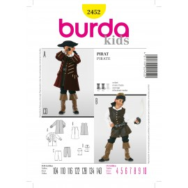 Pirate Sewing Pattern Burda n°2452