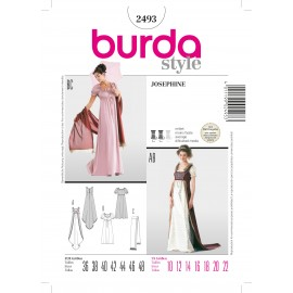 Joséphine Sewing Pattern Burda n°2493