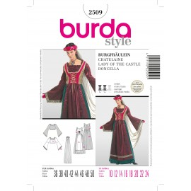 Lady of the Castle Sewing Pattern Burda n°2509