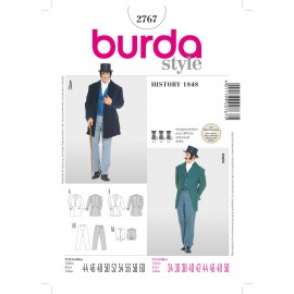 History 1848 Sewing Pattern Burda n°2567