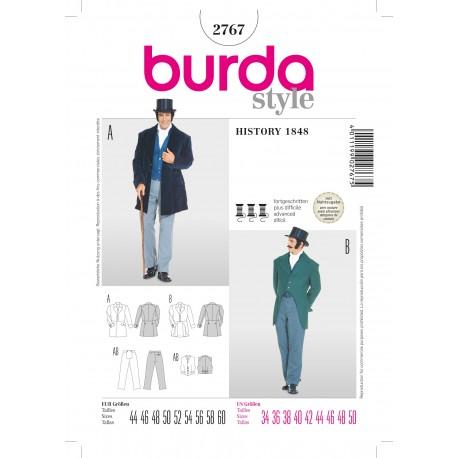 History 1848 Sewing Pattern Burda n°2567