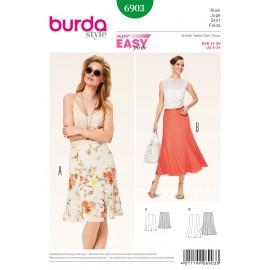 Skirt Sewing Pattern Burda n°6903