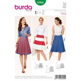 Patron Jupe Burda n°6904
