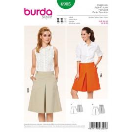 Pantskirt Sewing Pattern Burda n°6905