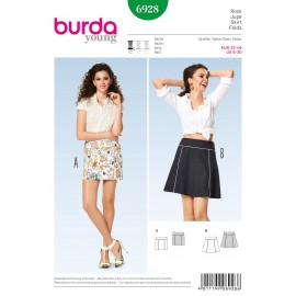 Patron Shorts Burda n°6927