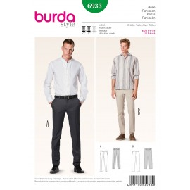 Pants Sewing Pattern Burda n°6933