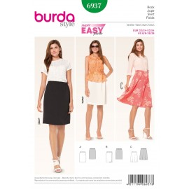 Patron Tunique & Robe Burda n°6936