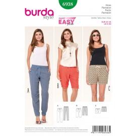 Patron Pantalon Burda n°6938