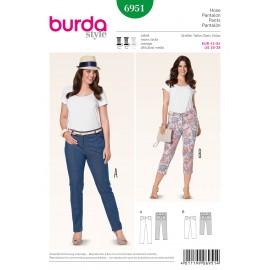 Pants Sewing Pattern Burda n°6951