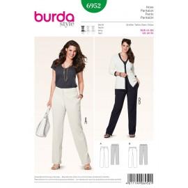 Pants Sewing Pattern Burda n°6952