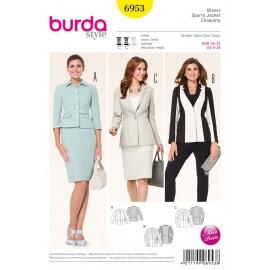 Patron Pantalon Burda n°6952