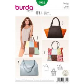 Patron Sacs Burda n°6961