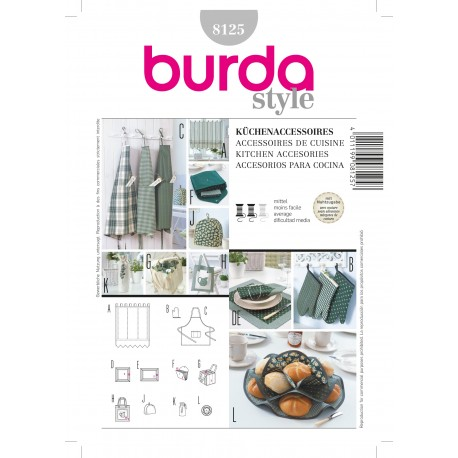 Patron Robe Burda n°8123