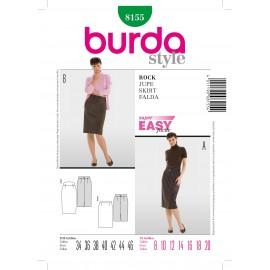 Skirt Sewing Pattern Burda n°8155