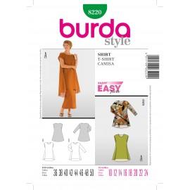 Patron Blouse Burda n°8218