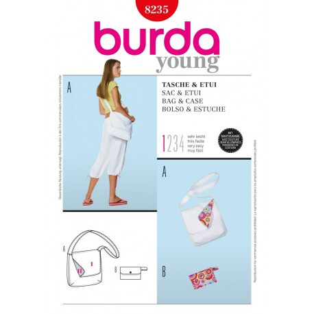 Bag & Case Sewing Pattern Burda n°8235