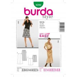 Patron Jupe Burda n°8237
