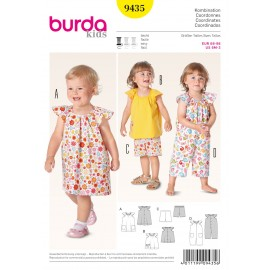 Patron Coordonnés Burda n°9435