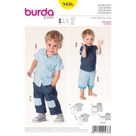 Coordinates Sewing Pattern Burda n°9436