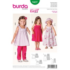 Coordinates Sewing Pattern Burda n°9437