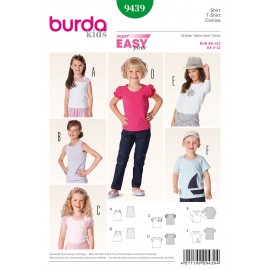 Patron Robe & T-shirt Burda n°9438
