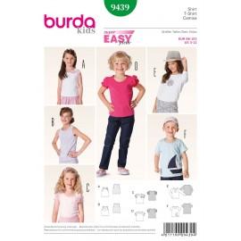 Patron T-shirt Burda n°9439