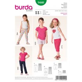 Patron Pantalon Burda n°9440