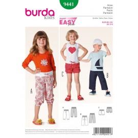 Patron Pantalon Burda n°9441