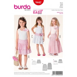Skirt Sewing Pattern Burda n°9442