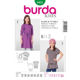 Dress & Tunic Sewing Pattern Burda n°9453