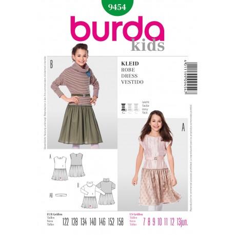 Patron Robe & Tunique Burda n°9453