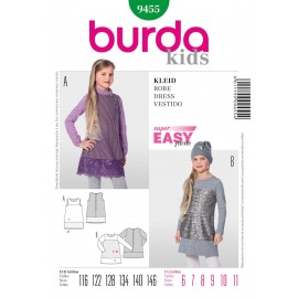Dress Sewing Pattern Burda n°9455