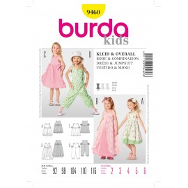 Dress & Jumpsuit Sewing Pattern Burda n°9460
