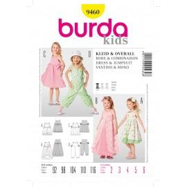 Patron Robe & Combinaison Burda n°9460