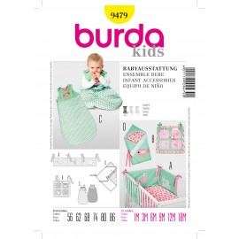 Patron Coordonnés Burda n°9478