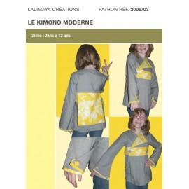 Patron Kimono moderne de 2 à 12 ans