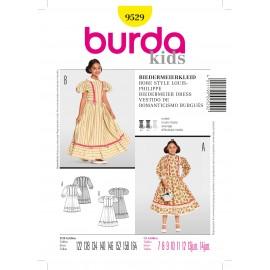 ♥ Louis-Philippe's style Dress Sewing Pattern Burda n°9529 ♥