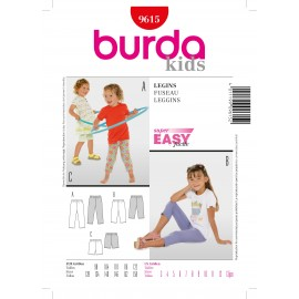 Leggings Sewing Pattern Burda n°961