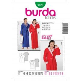 Patron Peignoir Burda n°9620