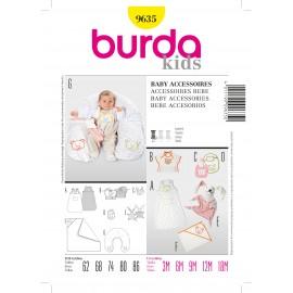 Patron Accessoires Bébé Burda n°9635