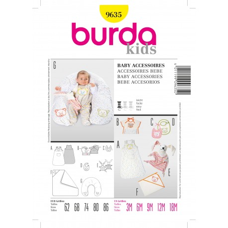 Patron Coordonnés Burda n°9629
