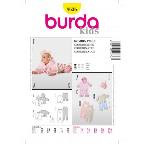 Coordinates Sewing Pattern Burda n°9636