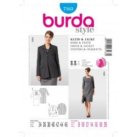 Patron Ensemble-Pantalon Burda n°7162