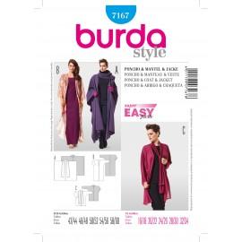 Patron Robe de soirée Burda n°7166