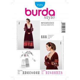 Patron Coordonnés Burda n°7170