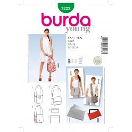 Patron Sacs Burda n°7223