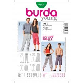 Pants Sewing Pattern Burda n°7230
